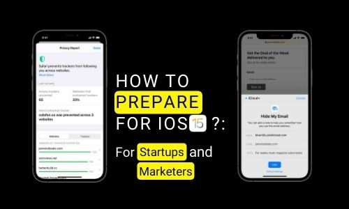 How to prepare for IOS 15?: For Startups and Marketers